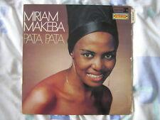 MIRIAM MAKEBA 33 TOURS FRANCE PATA PATA