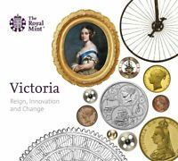2019 Queen Victoria Royal Mint £5 Five Pounds Crown Coin Pack