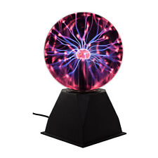 "Unido Box Plasma Ball 6"" Science Education Table Lamp Electrical Pulse Waves Fun"