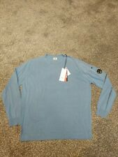 CP company blue arm lens pullover jumper size 54