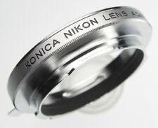 Konica adapter allow Nikon SLR Lenses on Konica AR Bodies ........... MINT