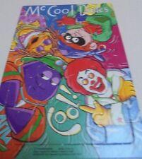 Ronald McDonald and Friends Retro jigsaw Puzzle Year 1998 - Unused -McDonalds