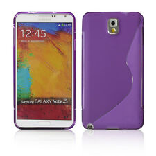Sides Protective Soft S Line TPU Skin Case Back Cover For Samsung Galaxy Note 3