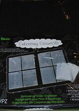 Darice Nylon Embossing Folder 5 x 7 Storage Organizers Holds 40 CN2033-994-1