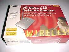 Belkin Wireless USB Network Adapter 802.11b Desktop Laptop Model F5D6050 New