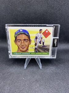 Topps PROJECT 2020 Card 89 - 1955 Sandy Koufax by Naturel