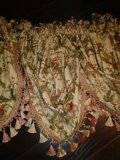 Croscill  Floral  Valances (4)
