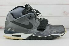 Nike Air Trainer SC II Men's Size 11 Metallic Dark Grey 443575 010 Bo Jackson