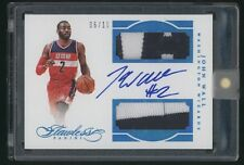 2015-16 Flawless JOHN WALL autograph auto dual patch /10 Wizards