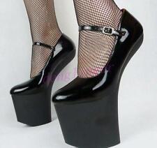 US 9 Women's Super High Heel Sexy Heelless NIghtclub Show Platform Shoes Pumps