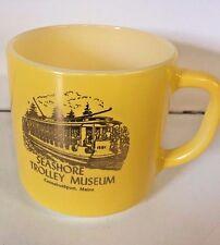 Vintage Seashore Trolley Museum Souvenir Coffee Mug Federal Kennebunkport Main