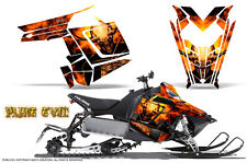 POLARIS RUSH PRO RMK 600/800 SLED SNOWMOBILE GRAPHICS KIT CREATORX PURE EVIL