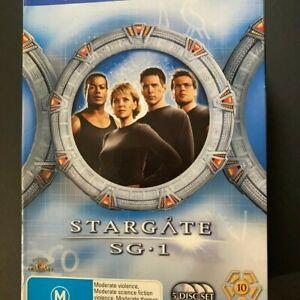 STARGATE SG-1 SEASON 10; 5 DISK BOX SET DVD's GC. REGION CODE 4