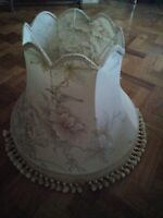 Large Vintage Style Lampshade french shabby chic country framhouse 22in