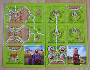 Carcassonne - King, Robber & Cult | Mini Expansions | New | English Rules