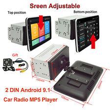 "2 Din 10.1"" Android 9.1 Car Radio Gps Navigation 360° Rotate Horizontal Screen"