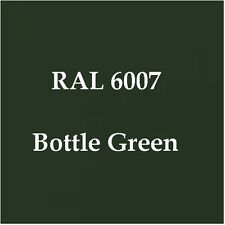 RAL 6007 HIGH QUALITY CELLULOSE PAINT BOTTLE GREEN 2.5L FREE Strainer & Tack Rag
