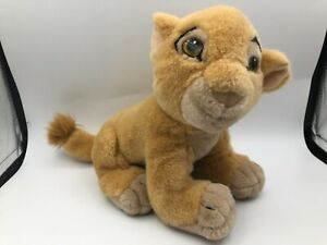 Vintage The Walt Disney Store Lion King Nala Cub Plush Soft Stuffed Toy Animal