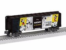 Lionel O-Gauge 1938010 Disney Mickey The True Original Boxcar. Brand New