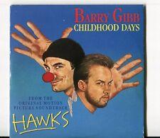 Barry Gibb  cd-single + soundtrack  CHILDHOOD DAYS / HAWKS  © 1988 - # 887 785-2