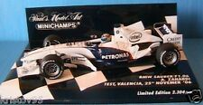 BMW SAUBER F1 06 TEST VALENCIA 25th NOVEMBER 2006 ZANARDI MINICHAMPS 1/43 F1