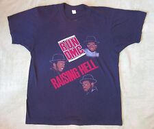 vtg 1980s Run Dmc Raising Hell My Adidas shirt extremely rare Usa Made