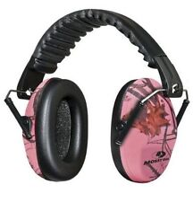 PINK CAMO Shooting EAR PROTECTION Women Girls Skeet Trap Hunting Collapse Muffs