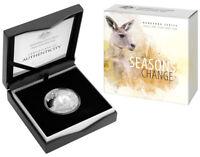 1 $ Känguru Kangaroo Seasons Change Australien 1 oz Silber 2017 PP Proof