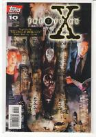 The X-Files #10 Mulder Scully Topps Comics 9.6