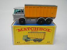 Matchbox Series D.A.F. Tipper Truck Container Truck MB47