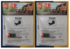 Lot of 2 - Any Scale NCE 205 BD20 Block Detector - Suitable for DCC up to 20 Amp