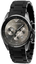 Emporio Armani Sportivo Men's Watch Black Quartz Analog AR5889