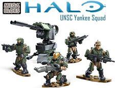 Halo Mega Construx UNSC Yankee Squad Complete UNSC Marines 2016 Scythe