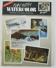 FUN WITH WATERCOLOR Tom Lynch Painting Instruction Learning Art