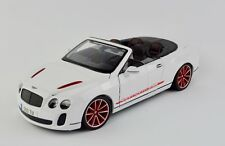 Bentley Continental Supersports ISR 1:18 Model Car Maisto Special Edition, New