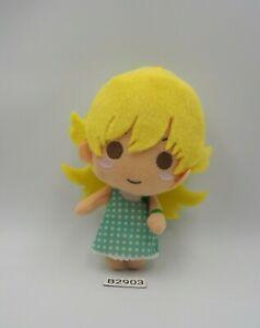 "Bakemonogatari B2903 Shinobu Oshino Mascot 5"" Banpresto 2015 Doll Plush Japan"