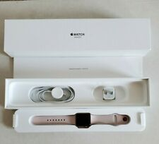 Apple Watch Series 3 - 38mm, Rose Gold, Pink Sand Sport Band (GPS/Cellular AT&T)