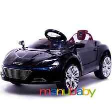 AUDI R8: auto elettrica bimbi + radiocomando / macchina bambini telecomandata