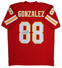 Chiefs Tony Gonzalez Authentic Signed Red Jersey Autographed BAS Witnessed