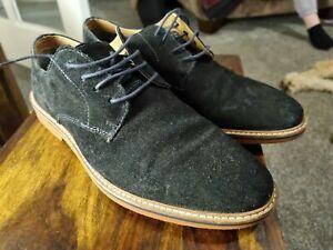 Next Blue Suede Shoes Size 7