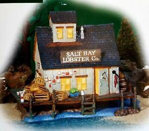 DEPT 56 New England Village SALT BAY LOBSTER COMPANY!  Beautiful, Sea, Ocean