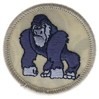 Gorilla BSA Boy Scouts Badge Boys 2 inch Patch AVAQ0002 F3D11H