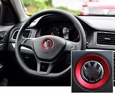 AUTO ACCESSORIES Car Steering Wheel Center Logo Decoration Ring For Volkswagen
