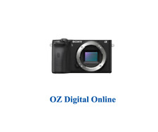 New Sony A6600 Body Black