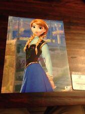 Kristen Bell Signed Autographed 11X14 Photo GA COA Frozen Anna