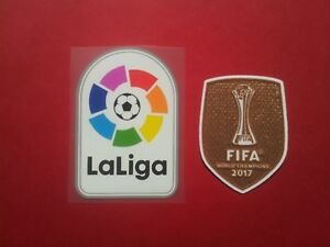 Patch Football Real Madrid Liga 2017 - 2018