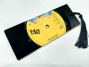 """Electric Light Orchestra, ELO, Hold on tight, 7"""" Vinyl Record Bookmark gift"""
