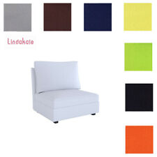 Custom Made Cover Fits IKEA KIVIK One-seat Section, Replace Chair Cover