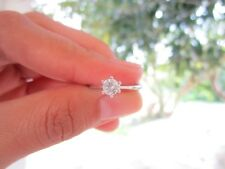 .35 Carat Diamond White Gold Engagement Ring 14k sepvergara