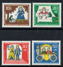 (Ref-7325) Berlin 1966 Humanitarian Relief (Frog Prince) SG.B289/B292 Mint (MNH)